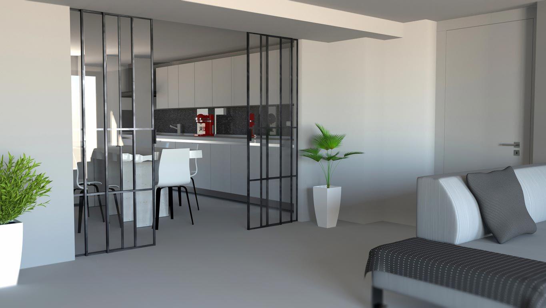 Claves para incorporar la cocina en tu salón