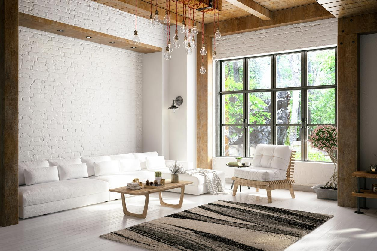 Estilo minimalista para crear armonía decorativa