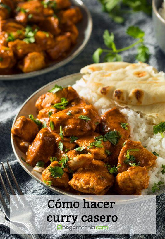 Cómo hacer curry casero