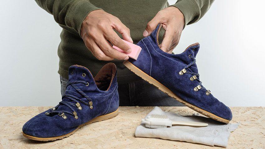 Borra especial para calzado de ante