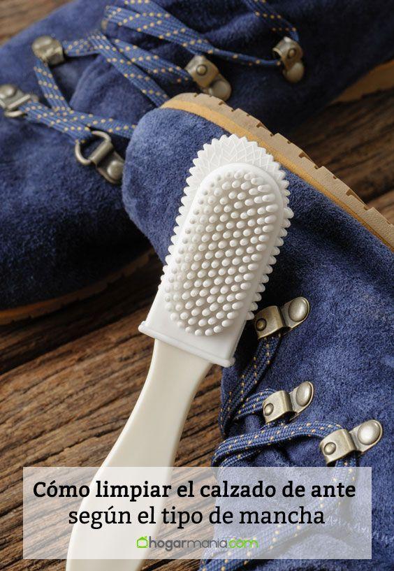 Cómo limpiar calzado de ante