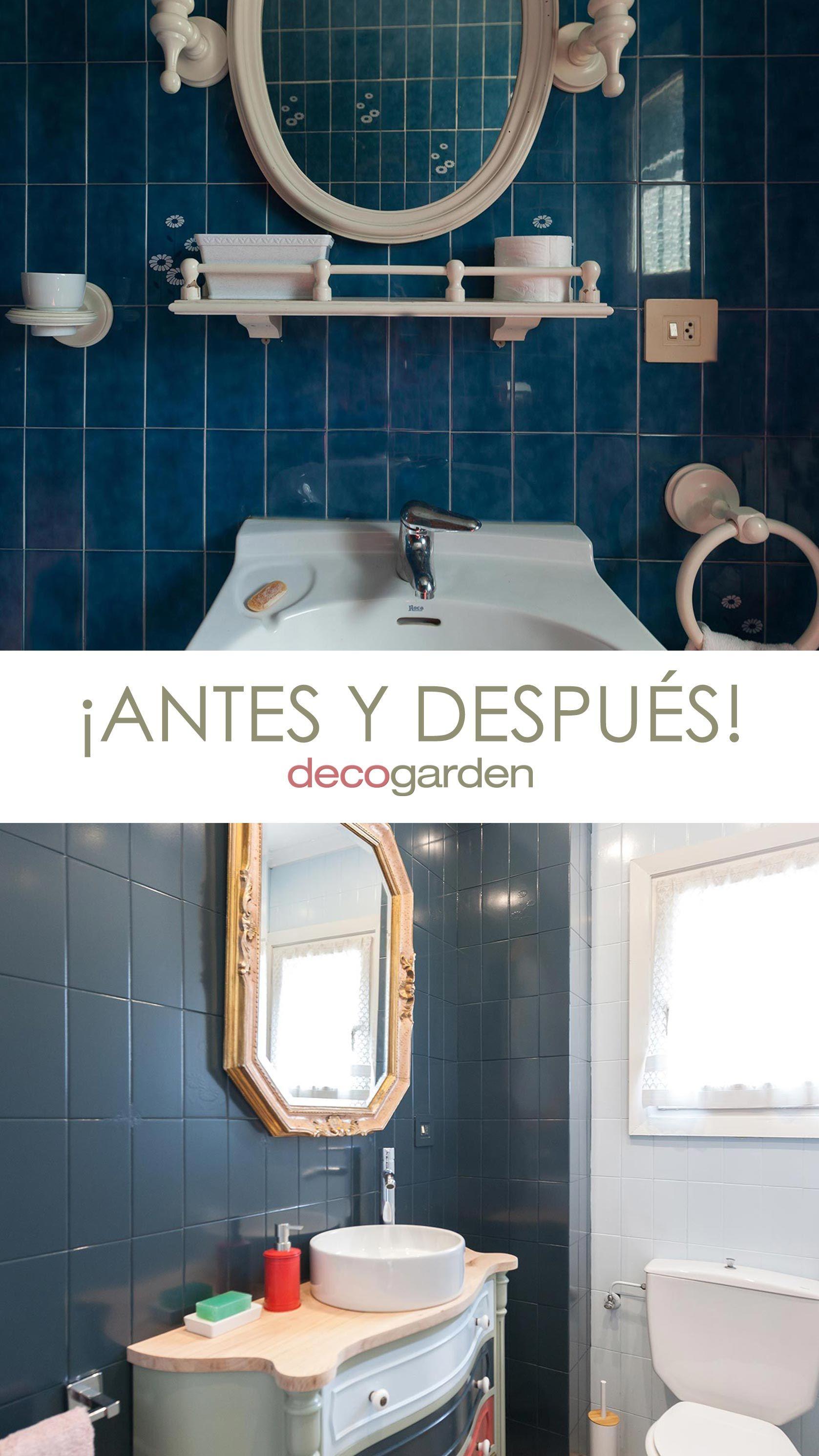 C mo decorar un cuarto de ba o azul elegante decogarden - Como decorar un cuarto de bano ...