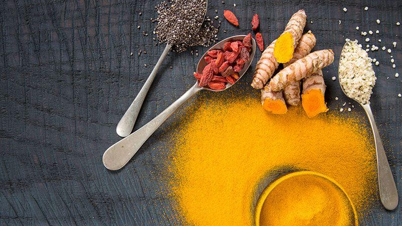 Mezcla de especias para preparar curry.