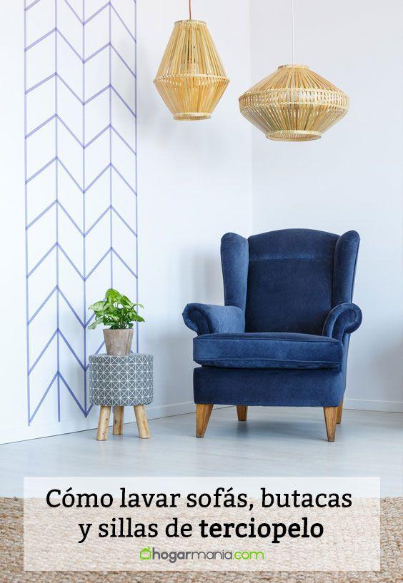 Cómo lavar sofás, butacas y sillas de terciopelo