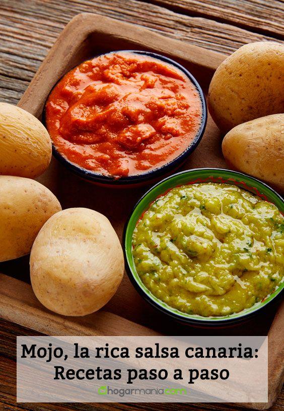 Mojo, la rica salsa canaria: Recetas paso a paso
