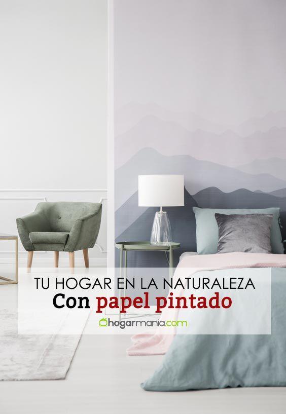 Cómo introducir tu habitación en plena naturaleza con papel pintado