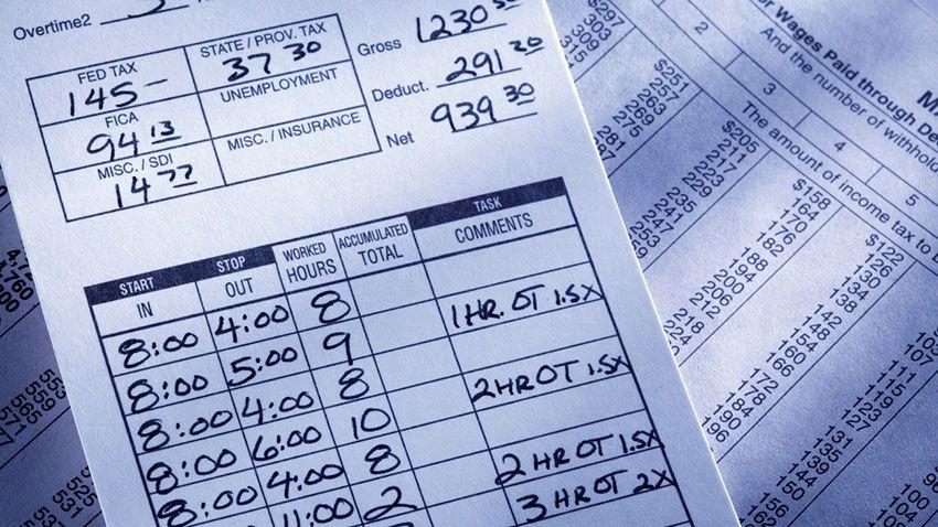 Registro de horario laboral