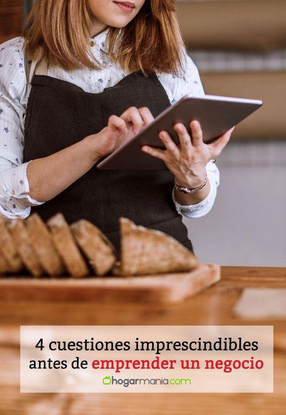 4 cuestiones imprescindibles antes emprender un negocio