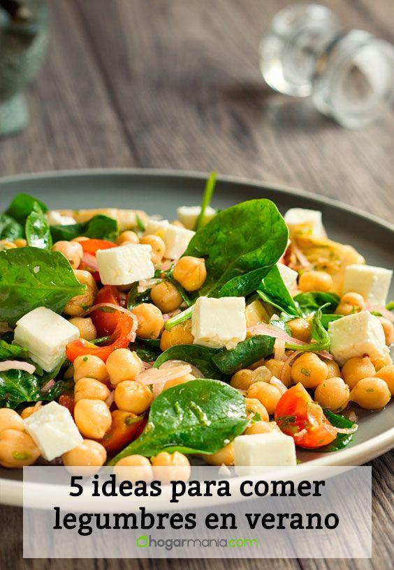 5 ideas para comer legumbres en verano