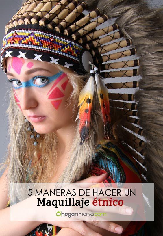 5 maneras de hacer un maquillaje étnico