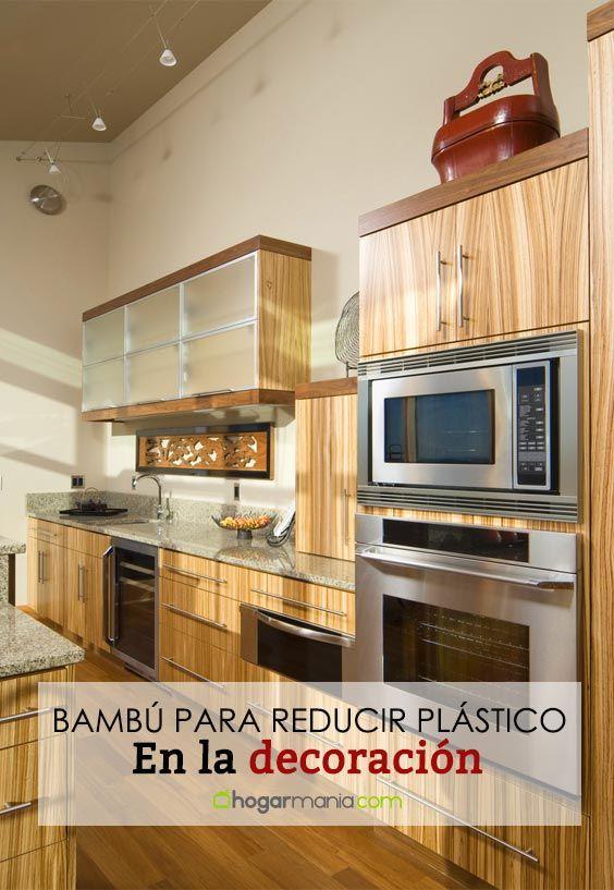 Apuesta por el bambú para reducir el plástico en la decoración