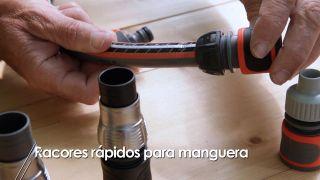 Rácores o conectores rápidos para manguera