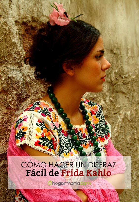 Cómo hacer un disfraz de Frida Kahlo (fácil)