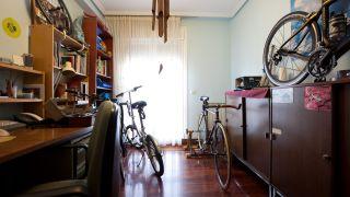 Decorar estudio con taller para bicicletas - paso 1