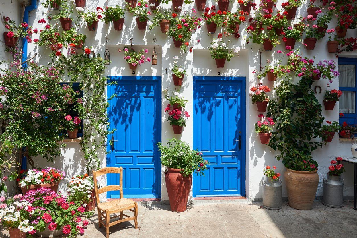 Casas blancas de Andalucía.