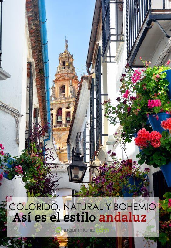 Estilo andaluz: la decoración más colorida, natural y bohemia