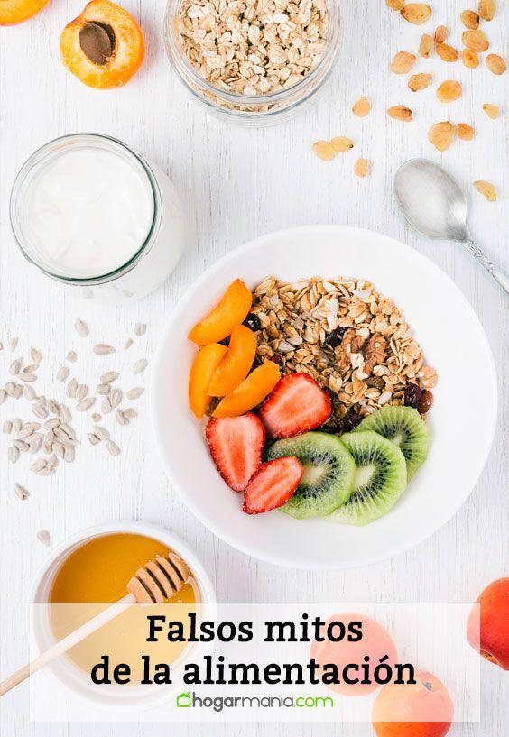 Falsos mitos de la alimentación