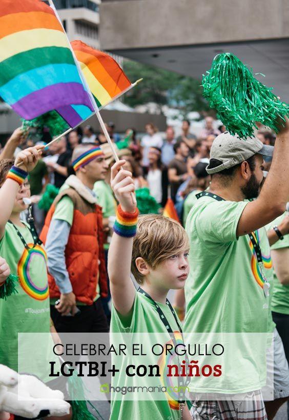 Ideas para celebrar el orgullo LGTBI + con niños