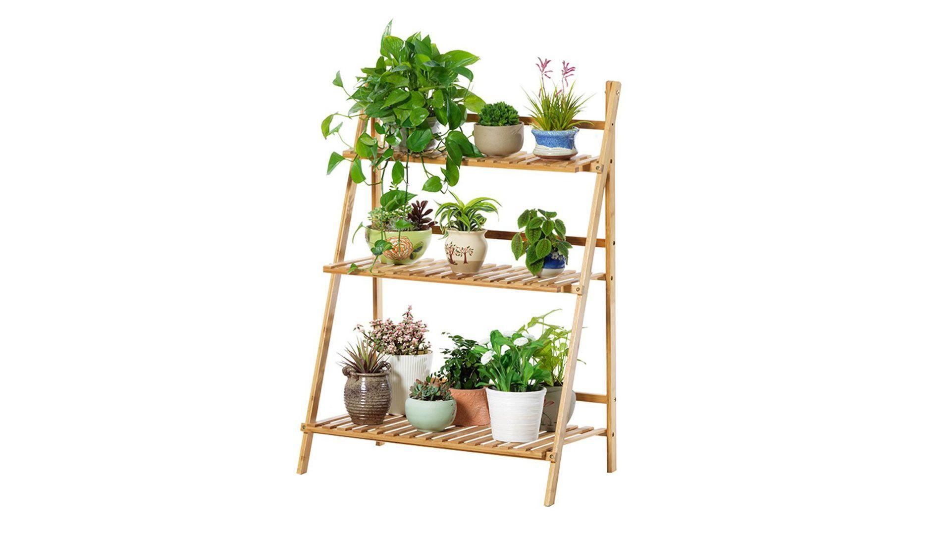 Mueble para jardineras