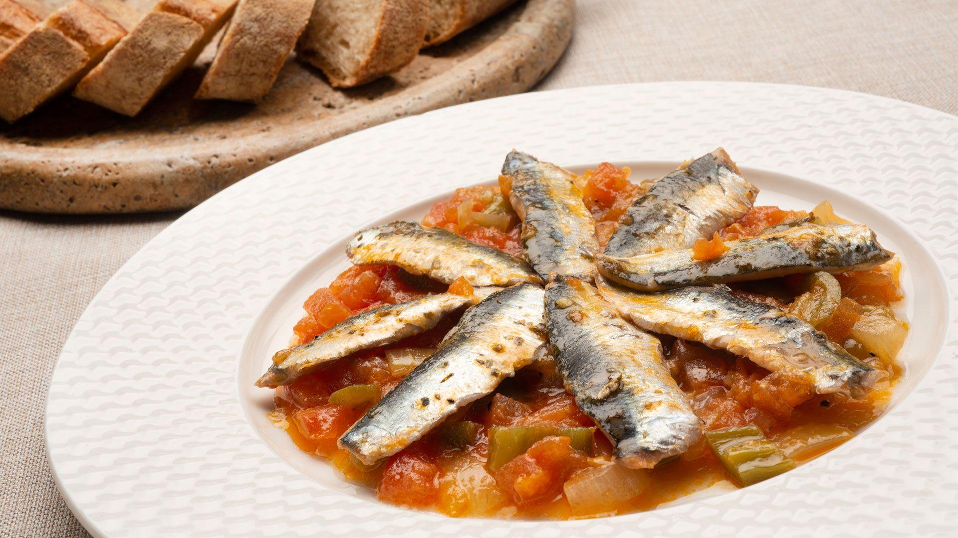 receta de moruna de sardinas