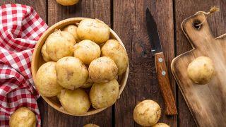 Patatas en el microondas - Paso 2