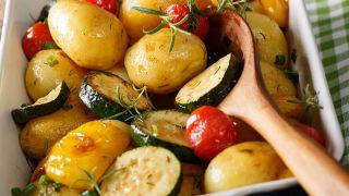 Patatas en el microondas - Paso 5