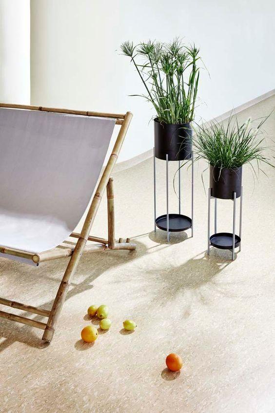 Tumbona de bambú