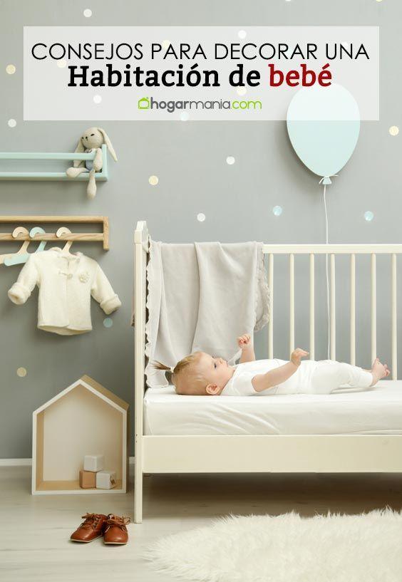 4 consejos para una habitación de bebé funcional, barata y original