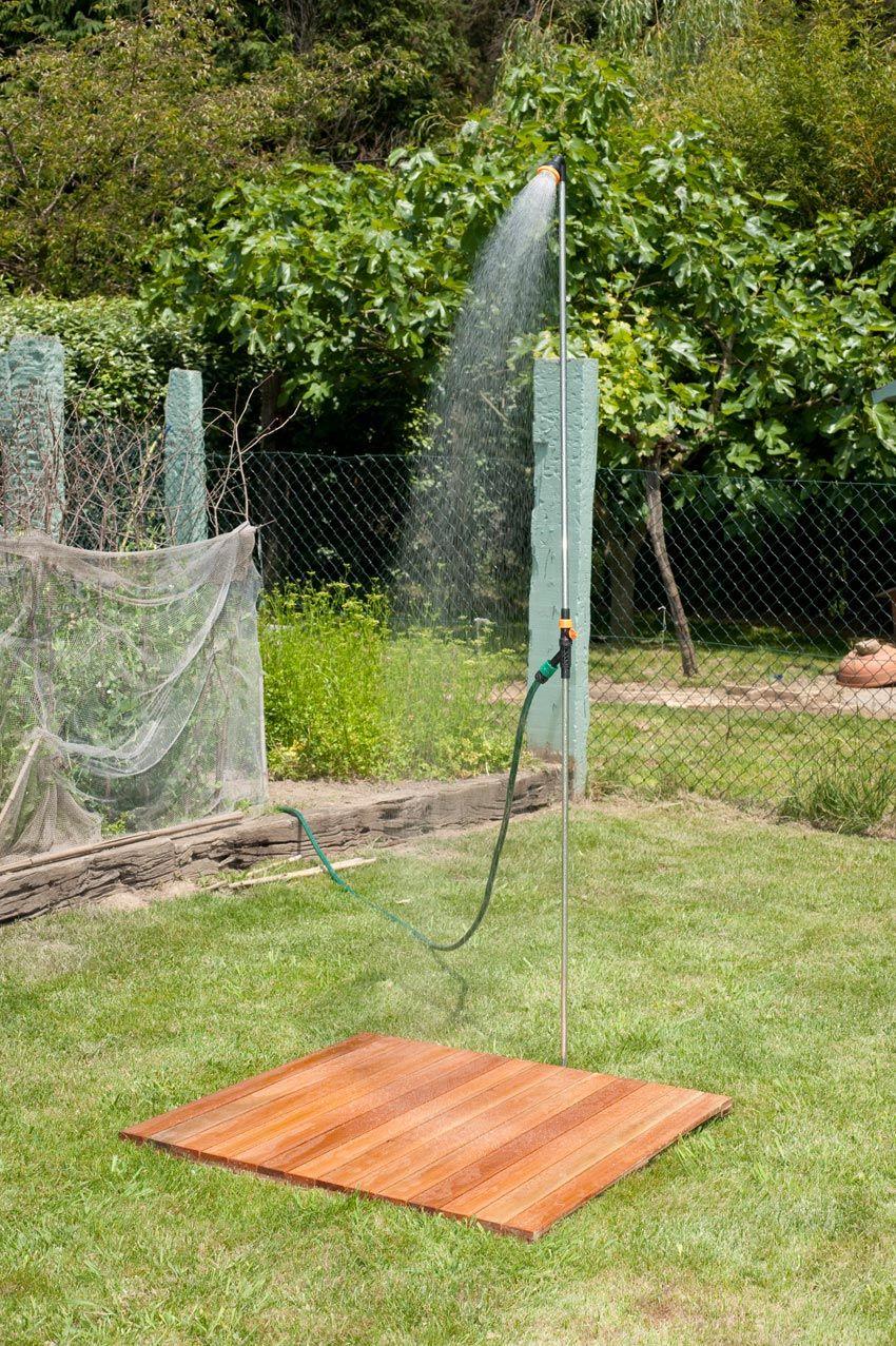 Ducha para el jardín
