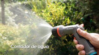 Contador de agua para el riego