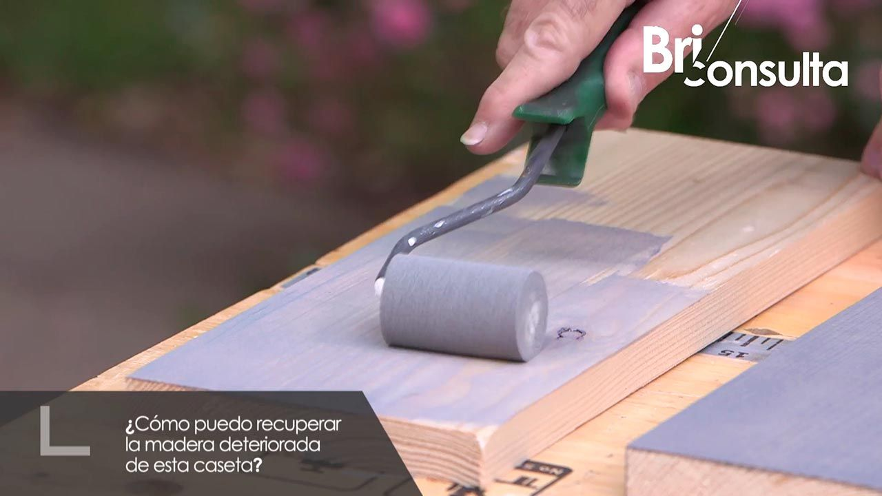 ¿Cómo recuperar la madera deteriorada de una caseta de madera?