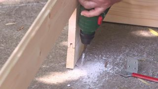 Cómo montar una caseta de madera para el jardín