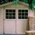 Cambiar la correa persiana bricoman a - Como hacer una caseta de madera para el jardin ...