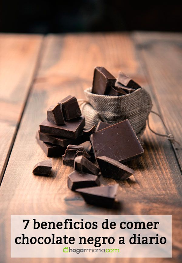 7 beneficios de comer chocolate negro a diario