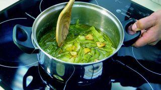 Cocer judías verdes