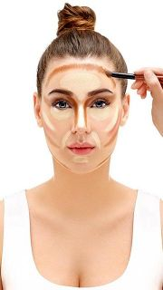 Contouring o maquillaje de contorno del rostro - Contorno