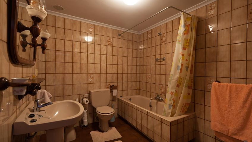 Decorar baño antiguo