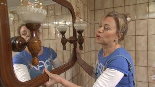 Decorar baño sin obra en blanco y madera - paso 1