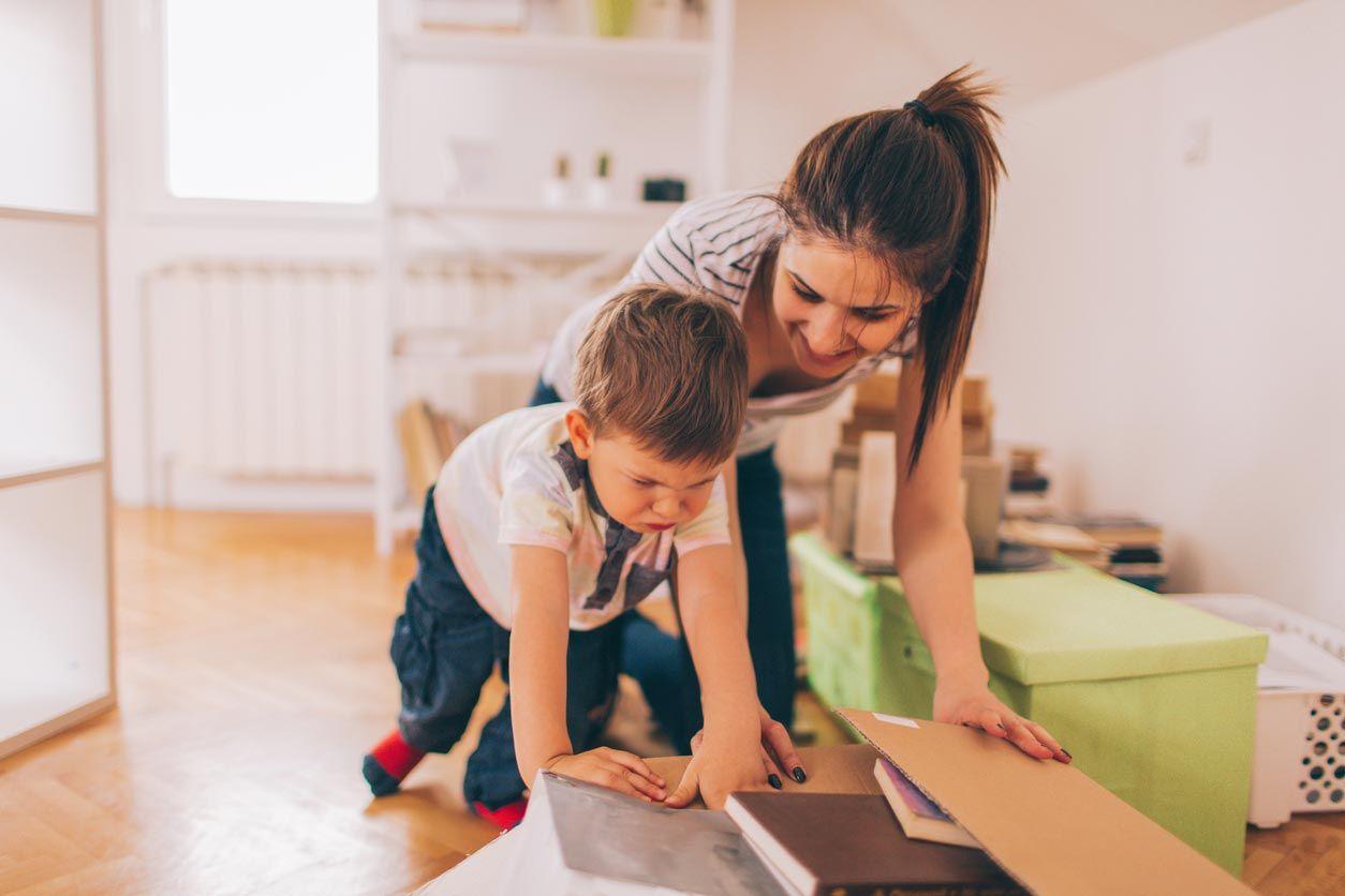 Aprender a organizar, recoger y decorar una habitación infantil