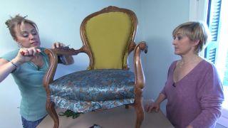 Dormitorio de estilo retro y elegante en casa rural - Paso 5