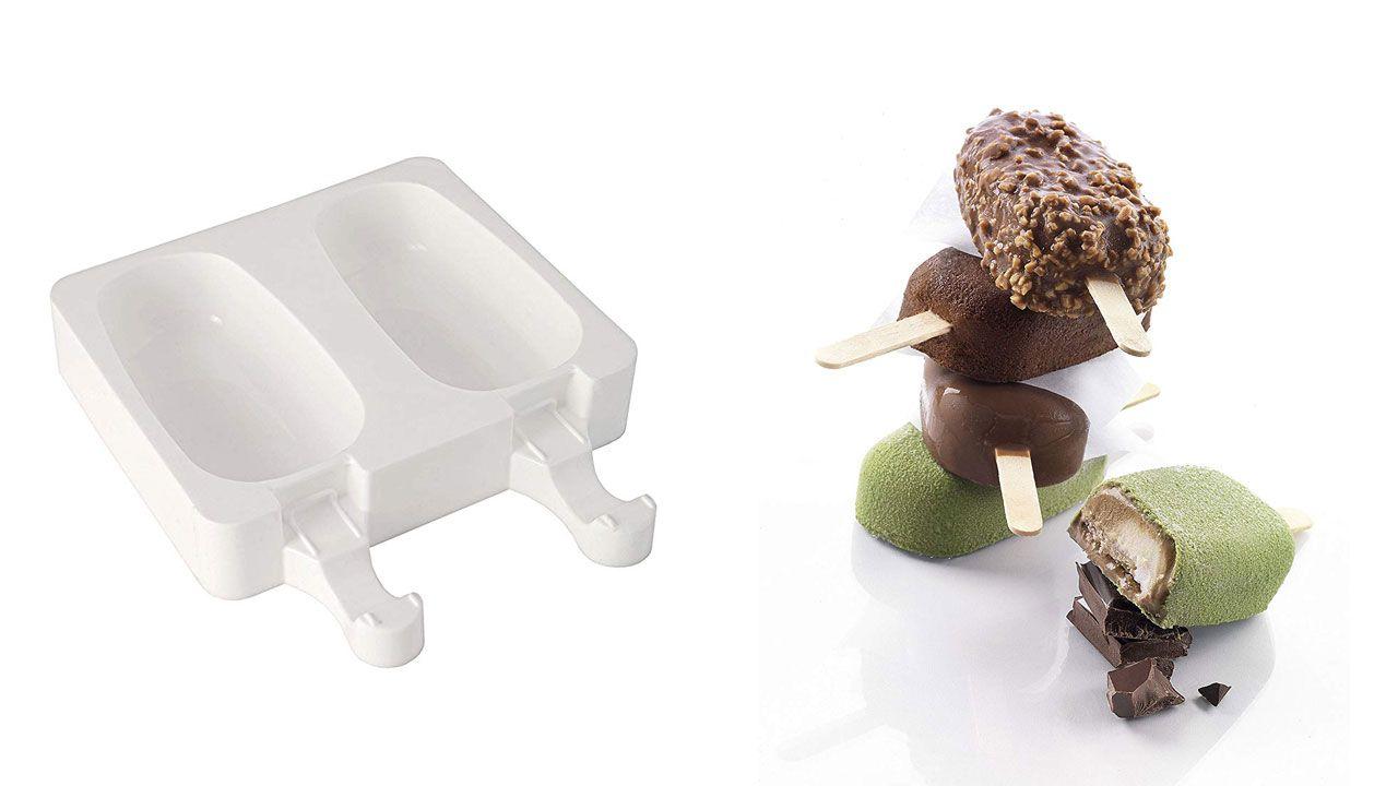 Moldes de helados caseros