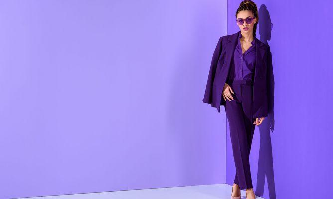 99e1fd886a18 Cómo llevar el violeta, el color de moda de este verano - Hogarmania