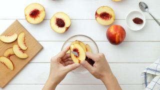 Tarta de nectarinas - Paso 5