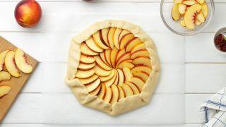 Tarta de nectarinas - Paso 8
