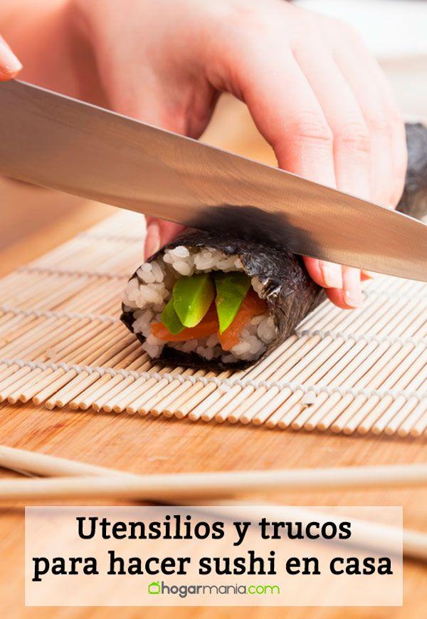 Utensilios y trucos para hacer sushi en casa
