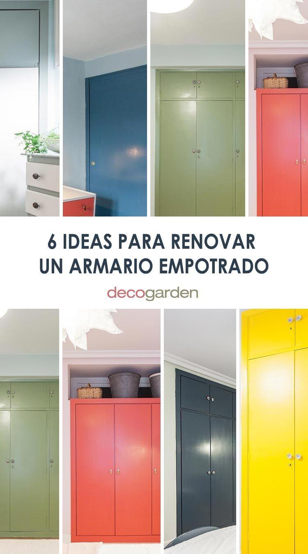 6 ideas originales para renovar un armario empotrado que te encantarán