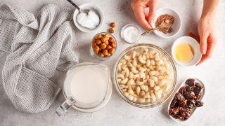 Aceite de coco para la preparación de recetas de repostería.