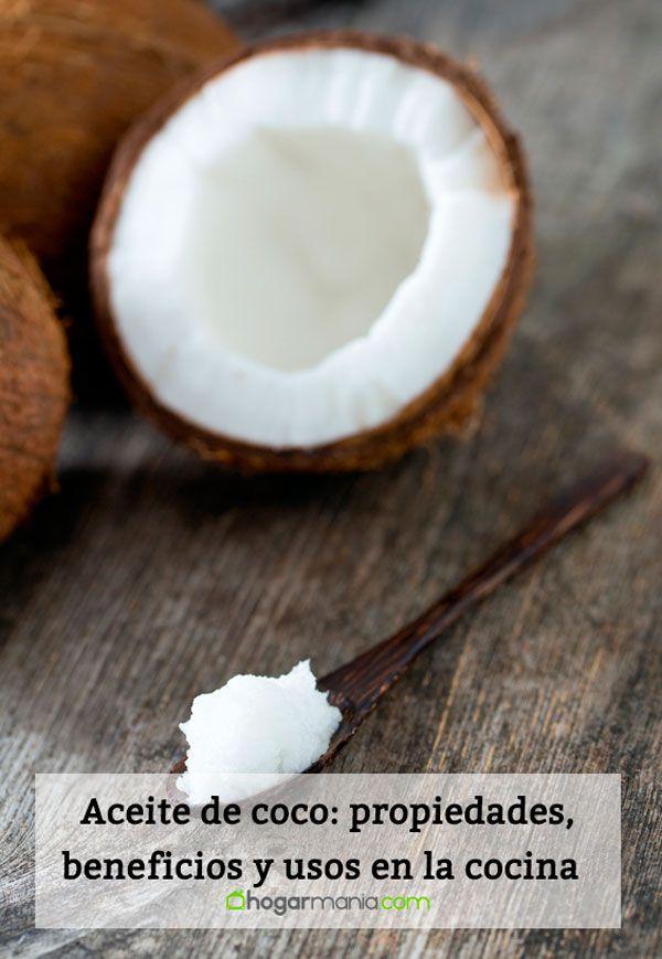 Aceite de coco: propiedades, beneficios y usos en la cocina