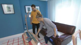 Cómo hacer una encimera de palés pintados para una antigua mesa de salón paso 5