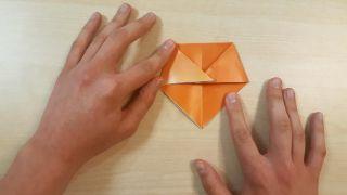 Cómo hacer un perro Shiba Inu de origami paso 3